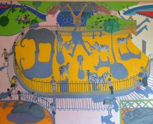 Andrew Macara Zoo painting