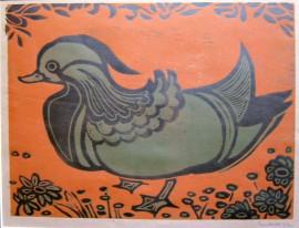 Dorothy Bordass Mandarin Duck Artist