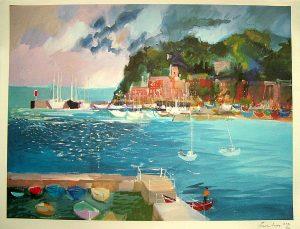 Frank Acher Santa Margherita Painting