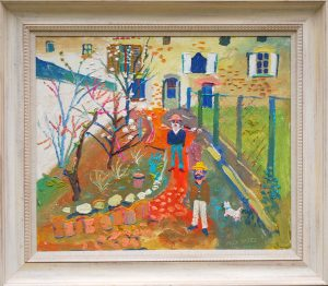 Fred Yates La Motte Chalancon Painting