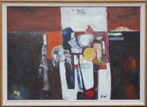 Georgina Vrousoou Mills Still Life painting