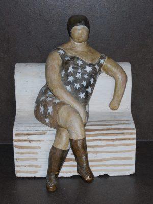Star Dress by Geraldine Knight Sculpture