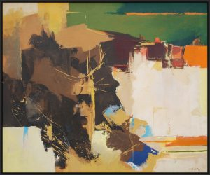 Maurice William Partridge Abstract Painting