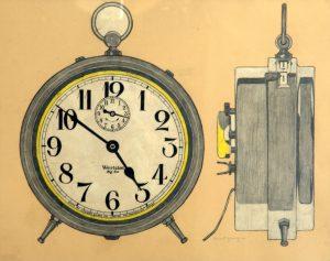 Robert Young Painter Clock