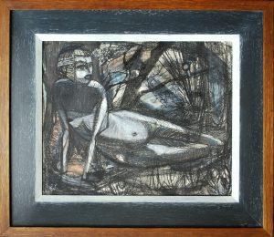 Ewart Johns Figure painting