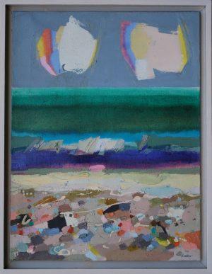 Frank Archer - Tyrrhenian II painting abstract