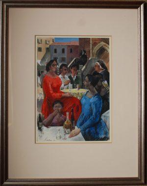 Frank Archer Venice Painting