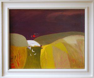 Kenneth Furnee Still Moment Summer night painting