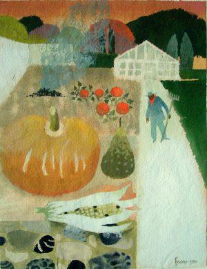 Mary Fedden Autumn Glydebourne