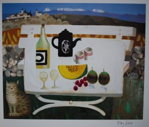 Mary Fedden Lunch in the Luberon