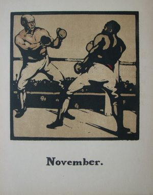 Sir William Nicholson Boxing