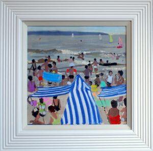 Andrew Macara Beach Scene painting