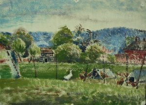 Franklin White - Ducks and Hens