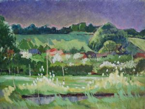 Franklin White - Spring in Kent Painting